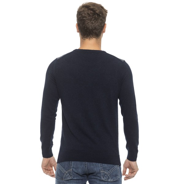Pullover Blue Conte of Florence Man M