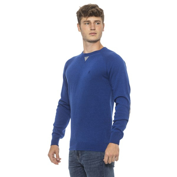 Pullover Blue Conte of Florence Man XL