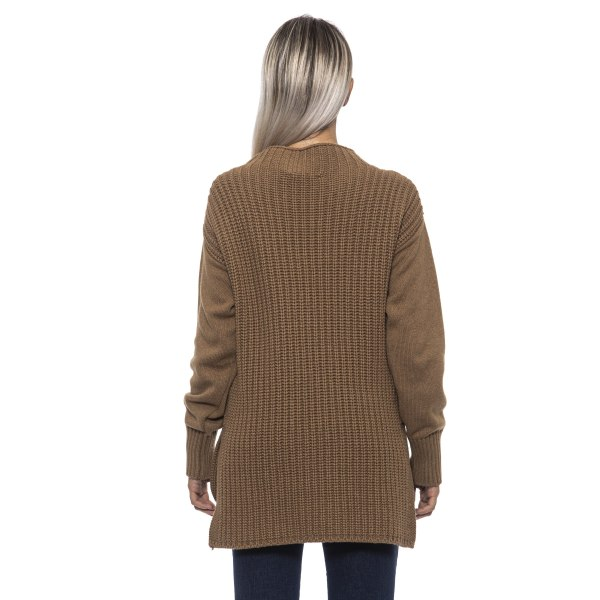 Pullover Brown Alpha Studio Woman 44