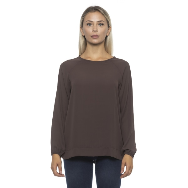 Pullover Brown Alpha Studio Woman 48