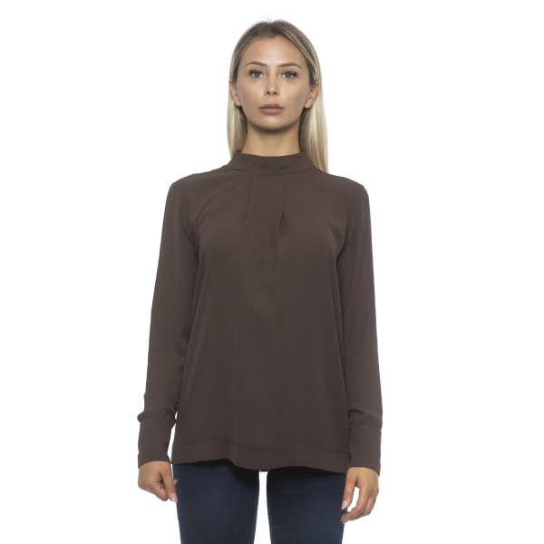 Pullover Brown Alpha Studio Woman 46