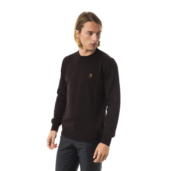 Pullover Brown Uominitaliani Man XS