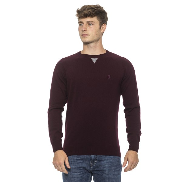 Pullover Burgundy Conte of Florence Man XXL