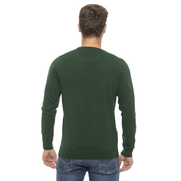 Pullover Green Conte of Florence Man