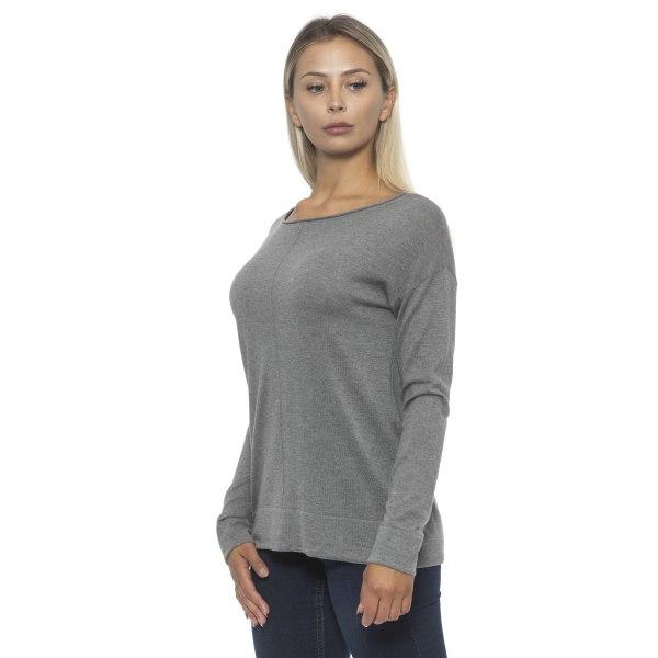 Pullover grey Alpha Studio Woman 46