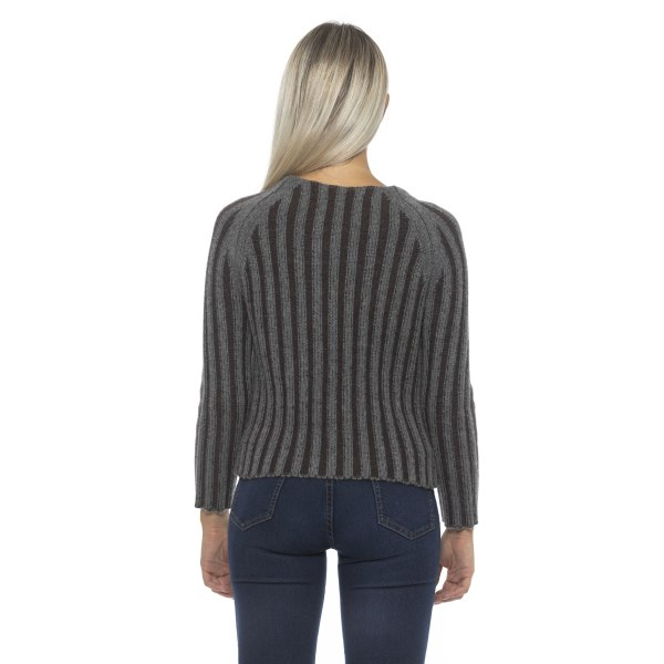 Pullover grey Alpha Studio Woman 40