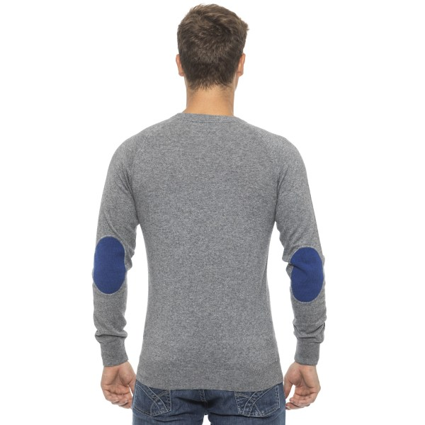 Pullover grey Conte of Florence Man M