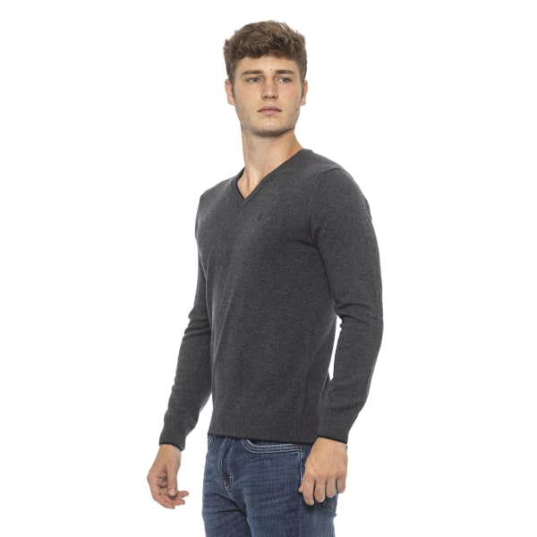Pullover grey Conte of Florence Man XL