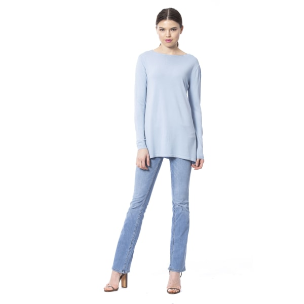 Pullover Light Blue Silvian Heach Woman L