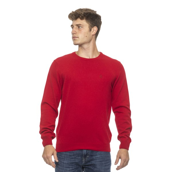 Pullover Red Conte of Florence Man M