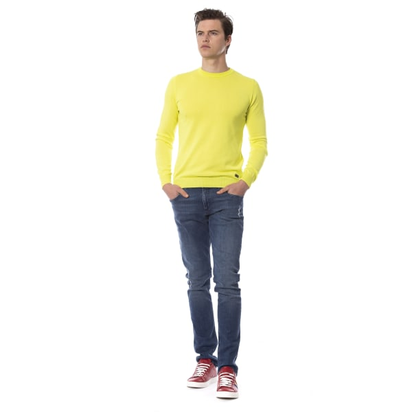 Pullover yellow Trussardi Man XL