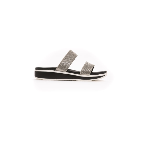 Sandals Silver Péché Originel Woman 37 EU - 4 UK