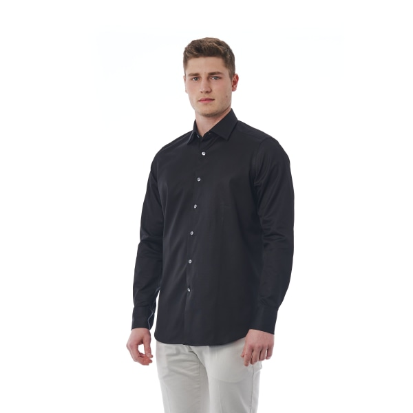 Shirt Black Bagutta Man 40