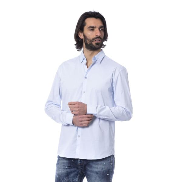 Shirt Light Blue Frankie Morello Man L
