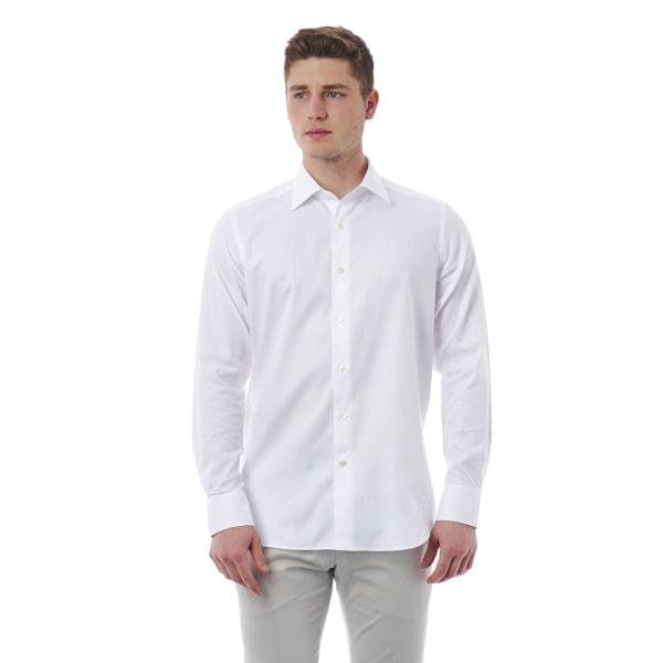 Shirt White Bagutta Man 45