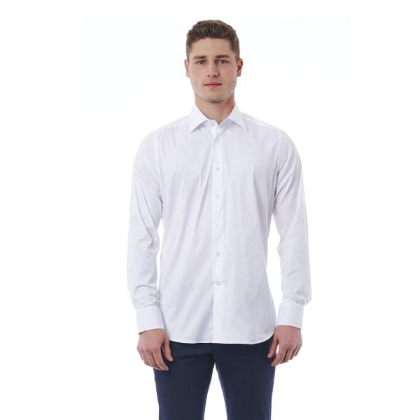 Shirt White Bagutta Man 43