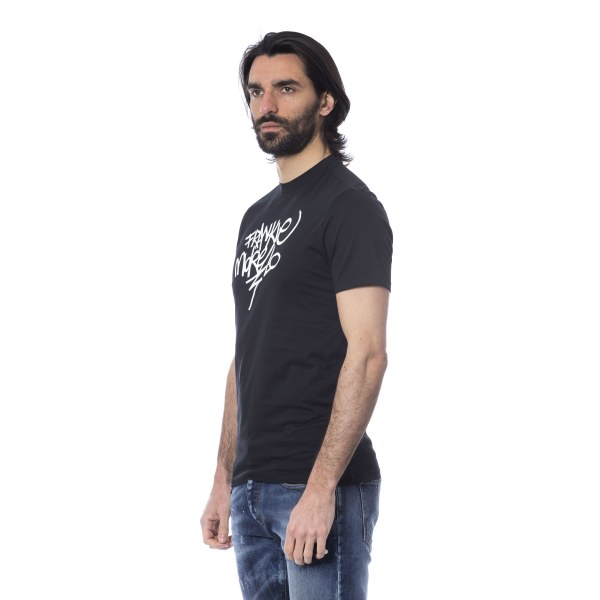 Short sleeve t-shirt Black Frankie Morello Man M