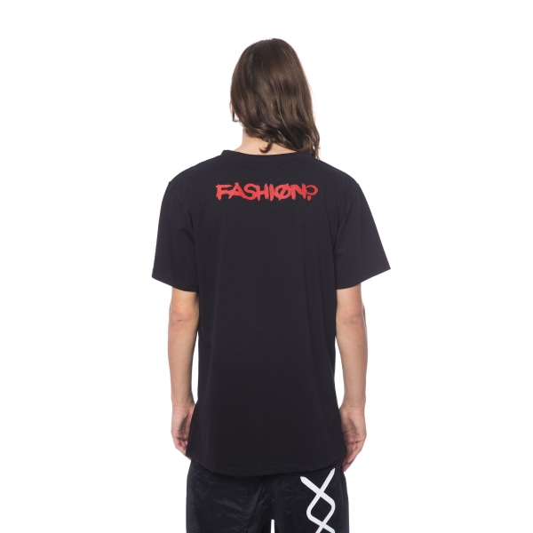 Short sleeve t-shirt Black Nicolo Tonetto Man