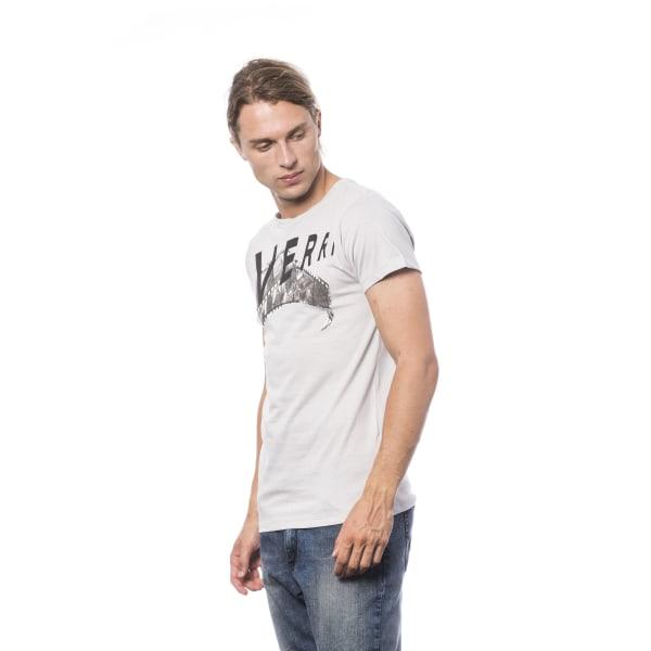 Short sleeve t-shirt grey Verri Man XXL
