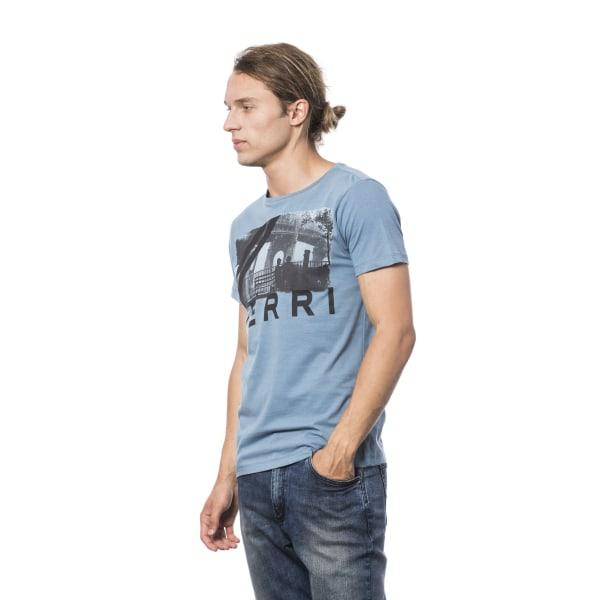 Short sleeve t-shirt Light Blue Verri Man XXL