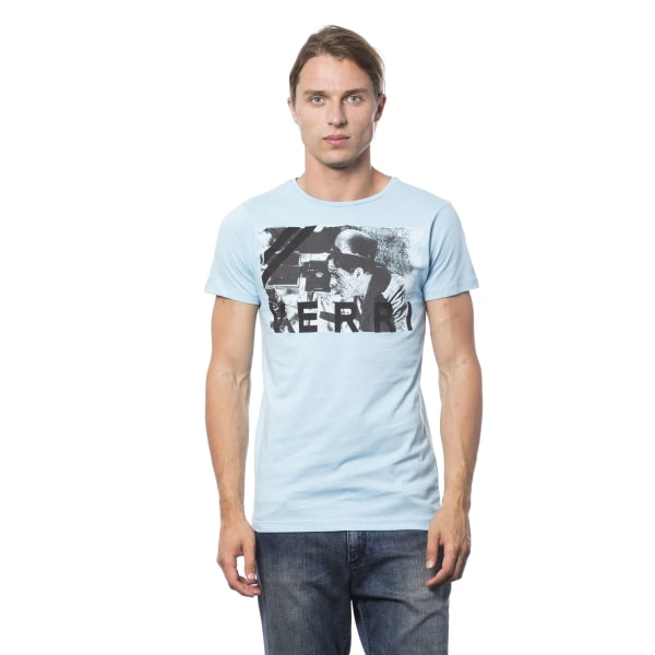 Short sleeve t-shirt Light Blue Verri Man S