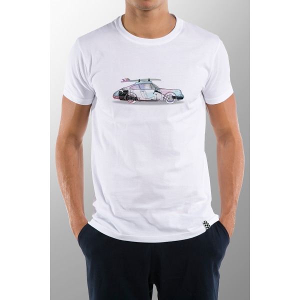 Short sleeve t-shirt White Matching Man M