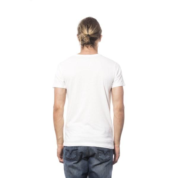 Short sleeve t-shirt White Verri Man XXL