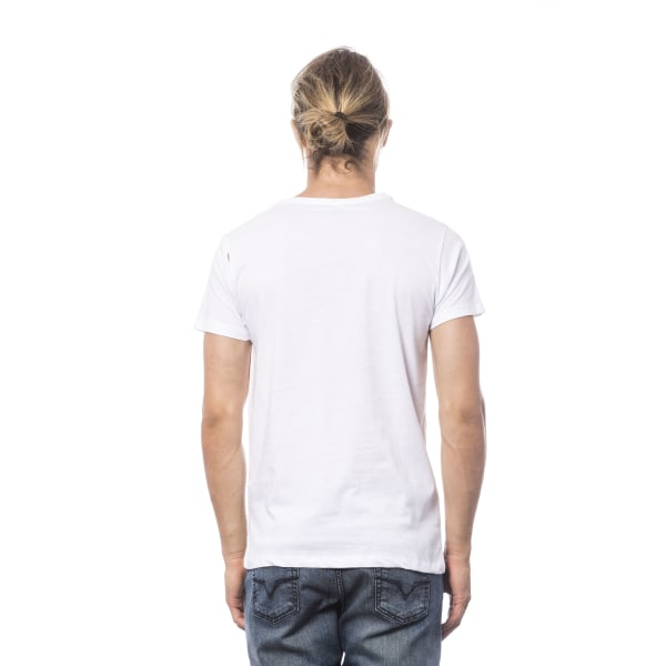 Short sleeve t-shirt White Verri Man XXL