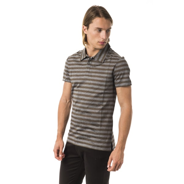 Short sleeves polo grey Byblos Man S