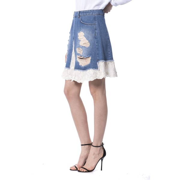 Skirt Blue Silvian Heach Woman 28