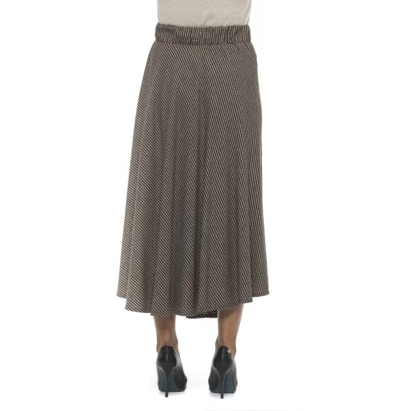 Skirt Brown Alpha Studio Woman 44