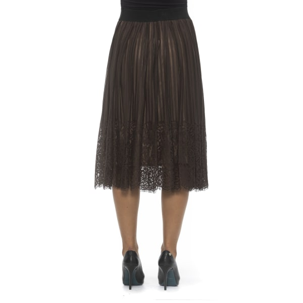 Skirt Brown Alpha Studio Woman 40