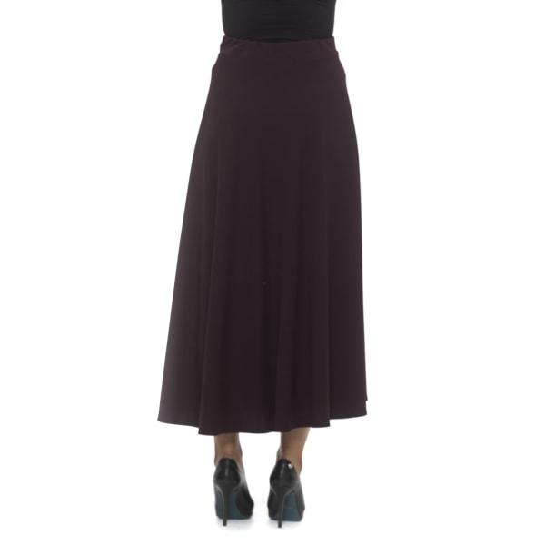 Skirt Burgundy Alpha Studio Woman 42