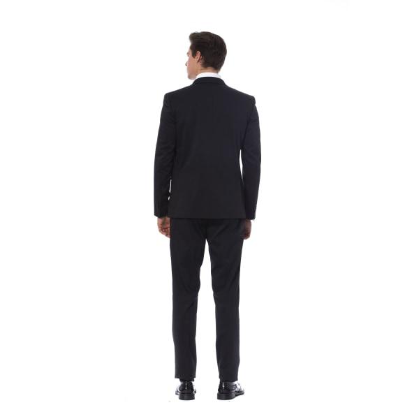 Suit Black Trussardi Man M