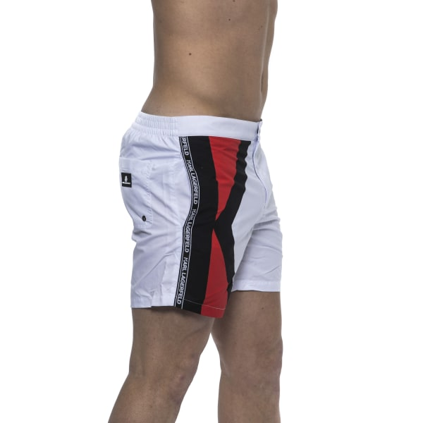 Swim short White Karl Lagerfeld Man M
