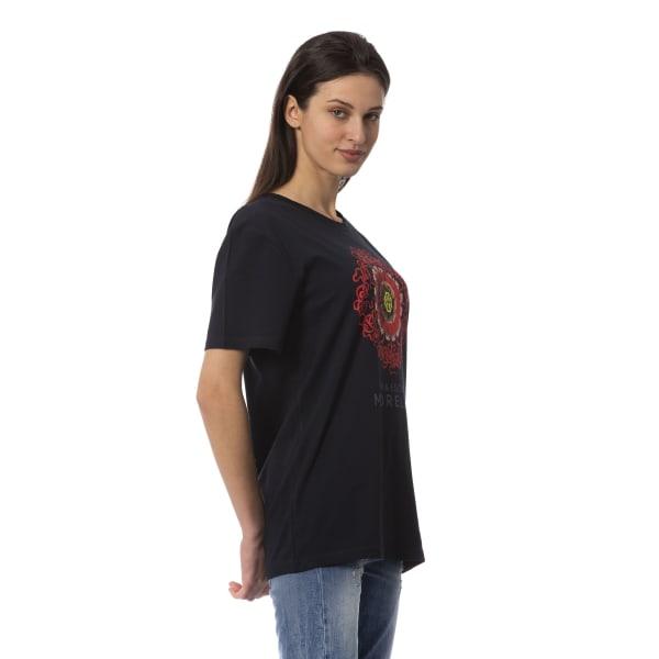 T-shirt Black Frankie Morello Woman XXS