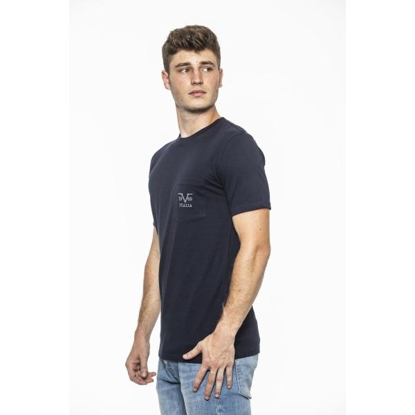T-shirt Blue Versace 19v69 Man