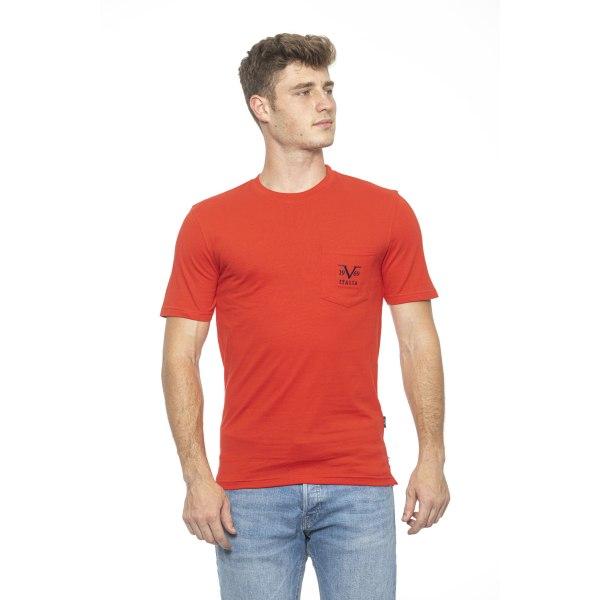 T-shirt Red Versace 19v69 Man