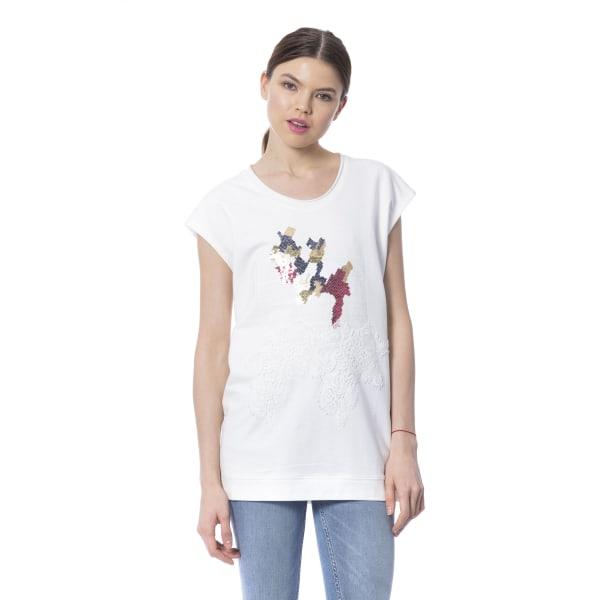 T-shirt White Silvian Heach Woman L