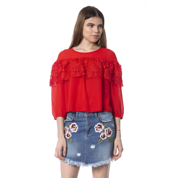 Top Red Silvian Heach Woman XS