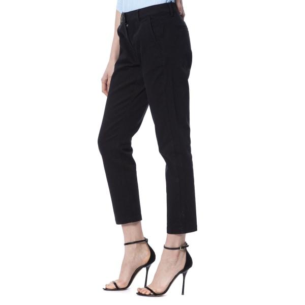 Trousers Black Silvian Heach Woman 42