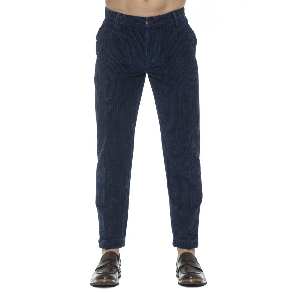 Trousers Blue Care Label Man 36
