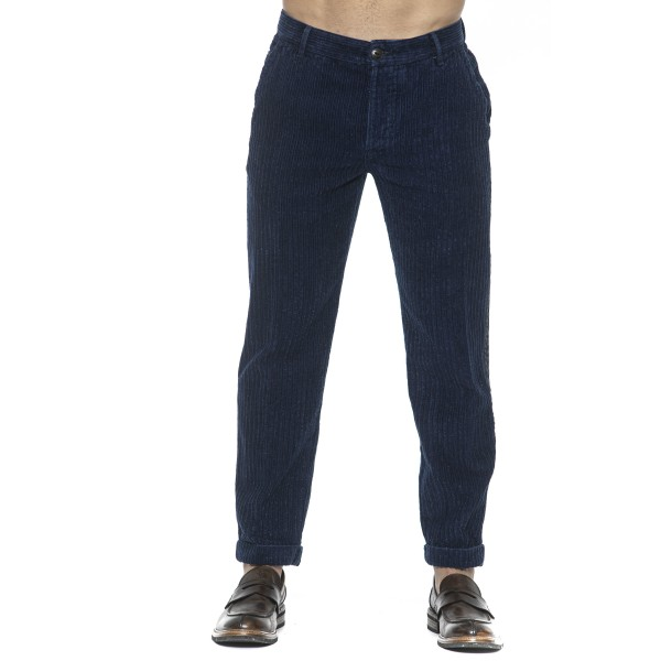 Trousers Blue Care Label Man 33