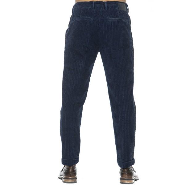 Trousers Blue Care Label Man 30