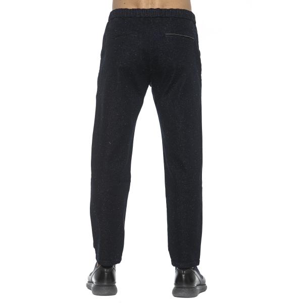Trousers Blue Care Label Man M