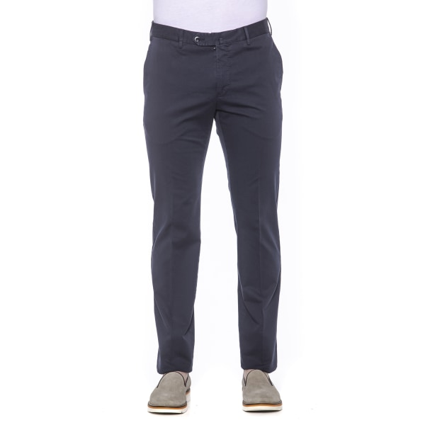 Trousers Blue PT Torino Man IT 46 - S