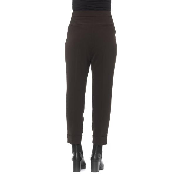 Trousers Brown Alpha Studio Woman 40