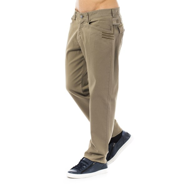 Trousers Brown Versace Jeans Man 50