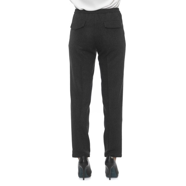 Trousers grey Alpha Studio Woman 38