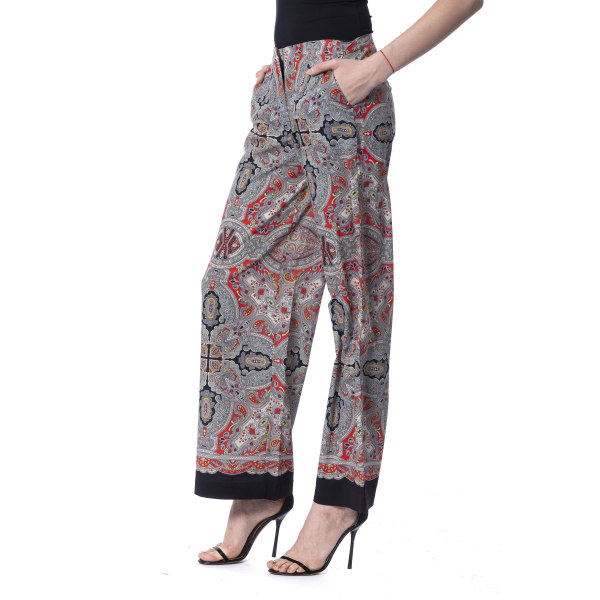Trousers Multicolor Silvian Heach Woman XS